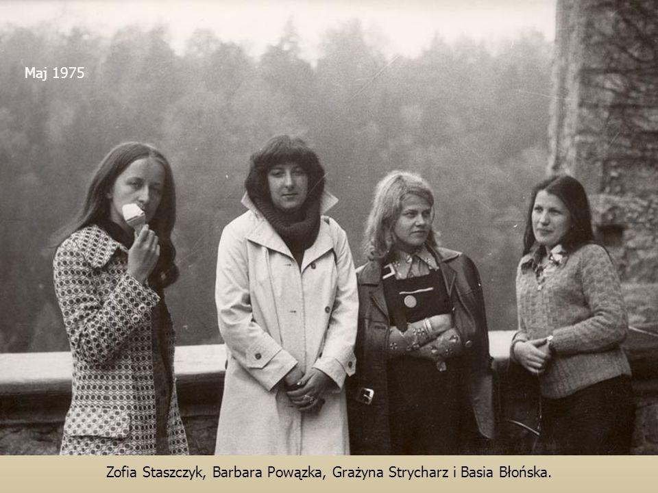 Zofia Staszczyk, Barbara Powązka, Grażyna Strycharz i Basia Błońska.