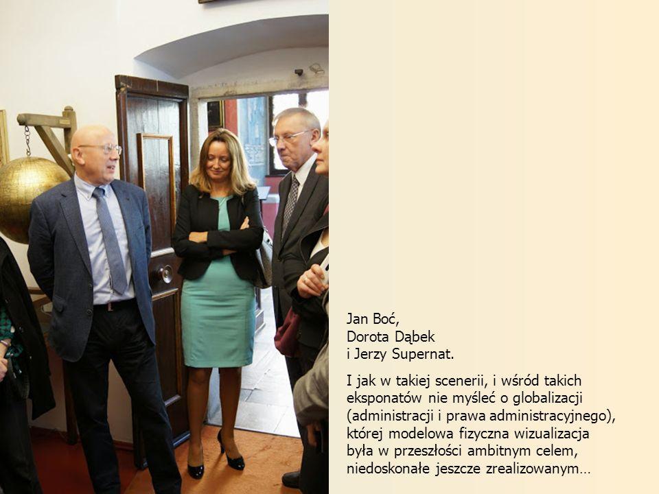 Jan Boć, Dorota Dąbek. i Jerzy Supernat.