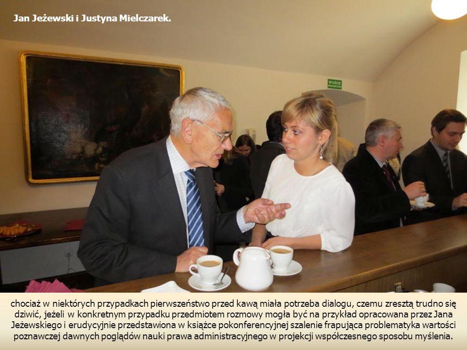 Jan Jeżewski i Justyna Mielczarek.