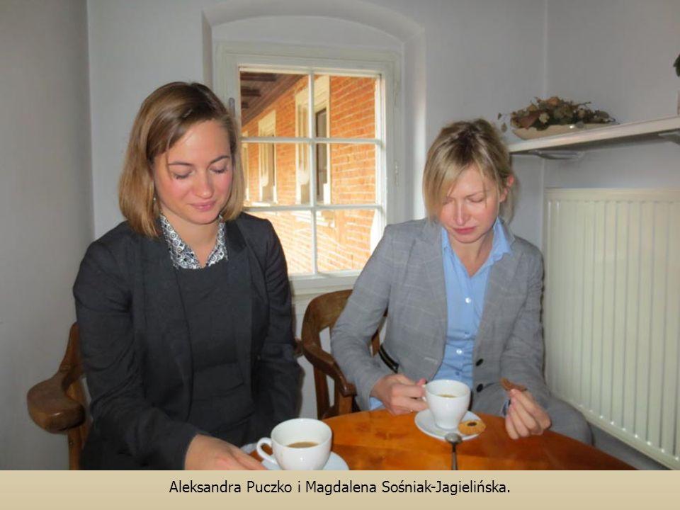Aleksandra Puczko i Magdalena Sośniak-Jagielińska.