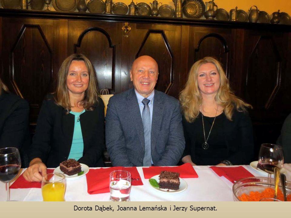 Dorota Dąbek, Joanna Lemańska i Jerzy Supernat.