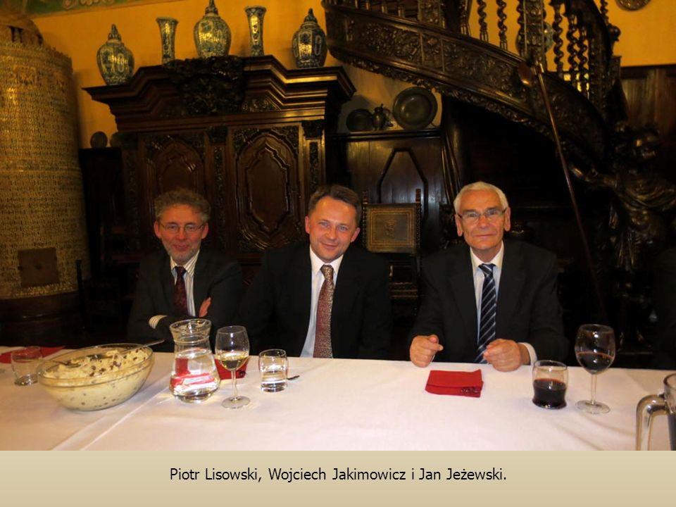 Piotr Lisowski, Wojciech Jakimowicz i Jan Jeżewski.