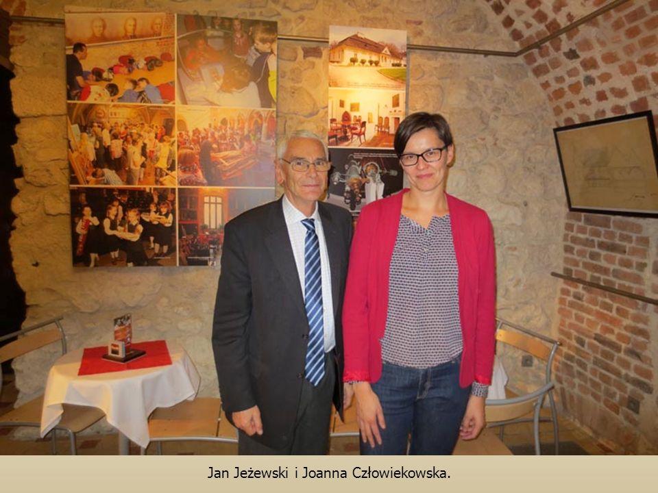 Jan Jeżewski i Joanna Człowiekowska.