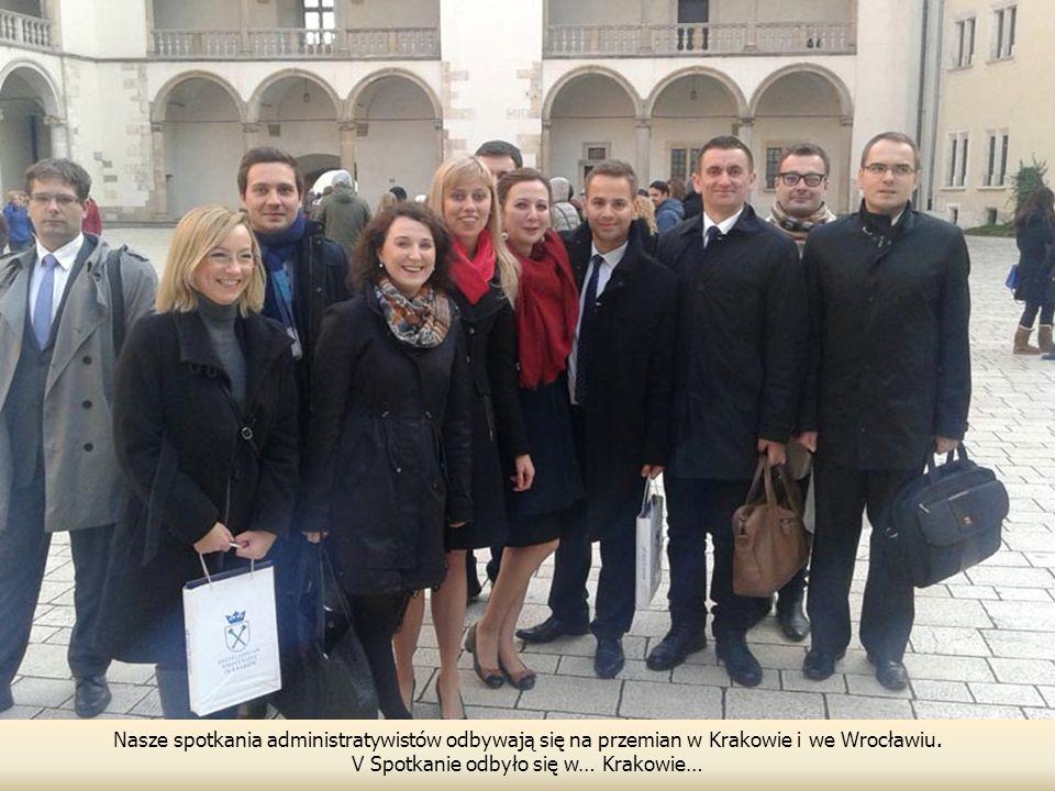 V Spotkanie odbyło się w… Krakowie…