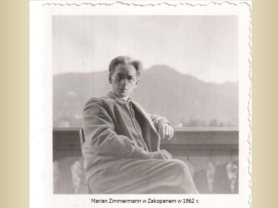Marian Zimmermann w Zakopanem w 1962 r.