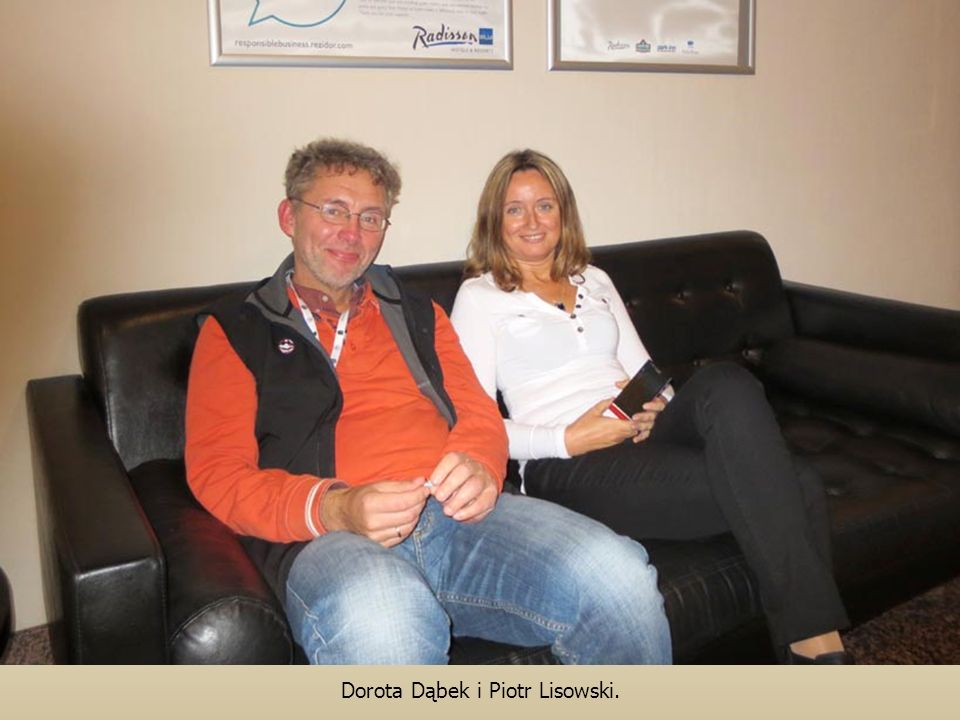 Dorota Dąbek i Piotr Lisowski.