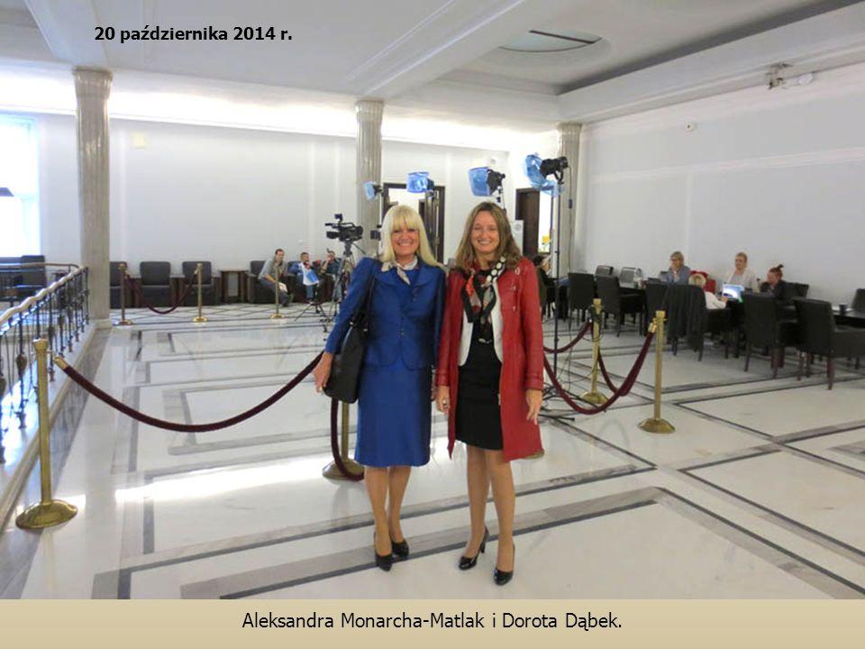 Aleksandra Monarcha-Matlak i Dorota Dąbek.