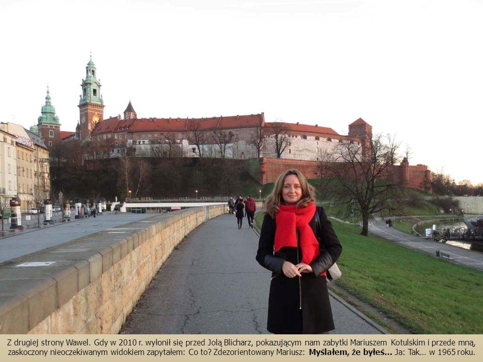 Z drugiej strony Wawel. Gdy w 2010 r