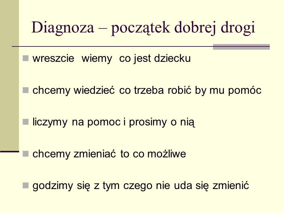 Diagnoza – początek dobrej drogi