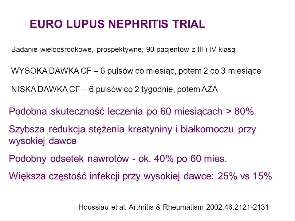EURO LUPUS NEPHRITIS TRIAL