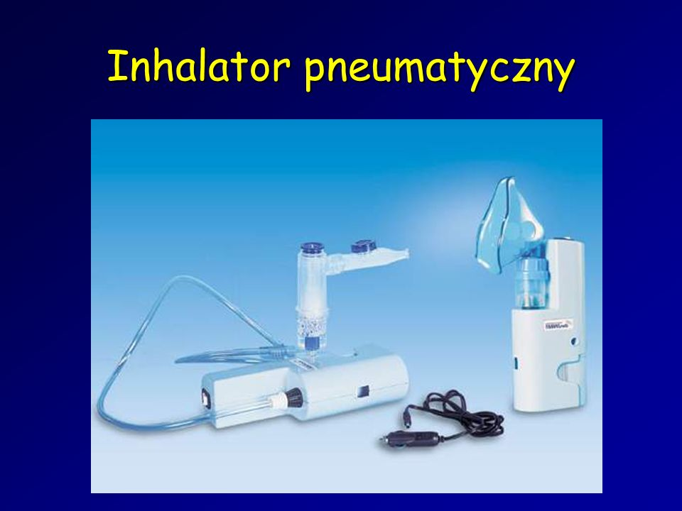 Inhalator pneumatyczny