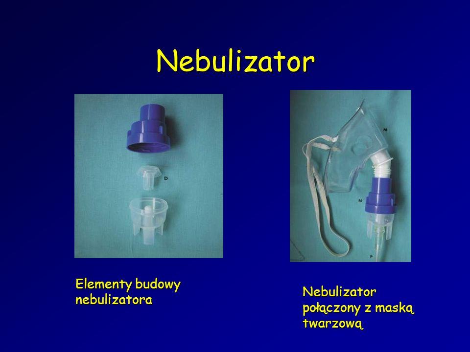 Nebulizator Elementy budowy nebulizatora