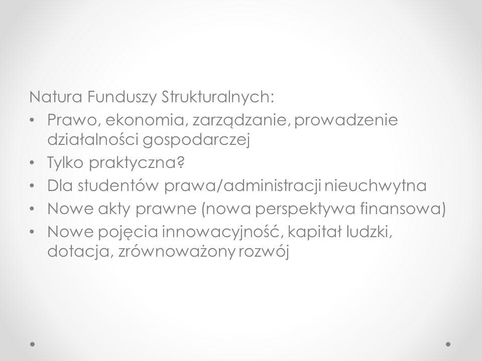 Natura Funduszy Strukturalnych: