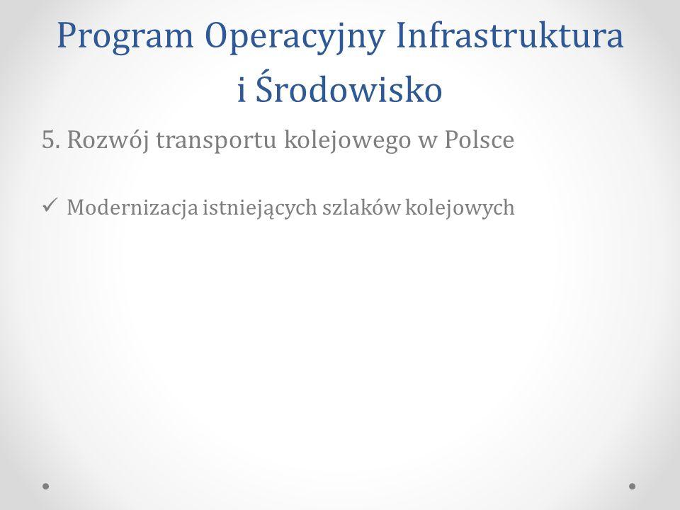 Program Operacyjny Infrastruktura i Środowisko