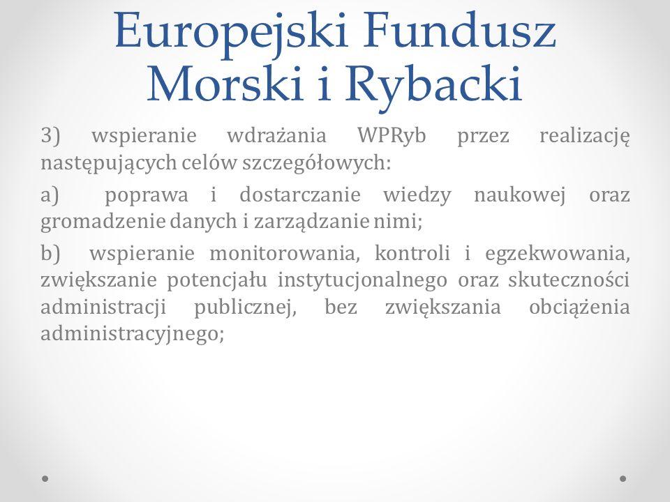 Europejski Fundusz Morski i Rybacki