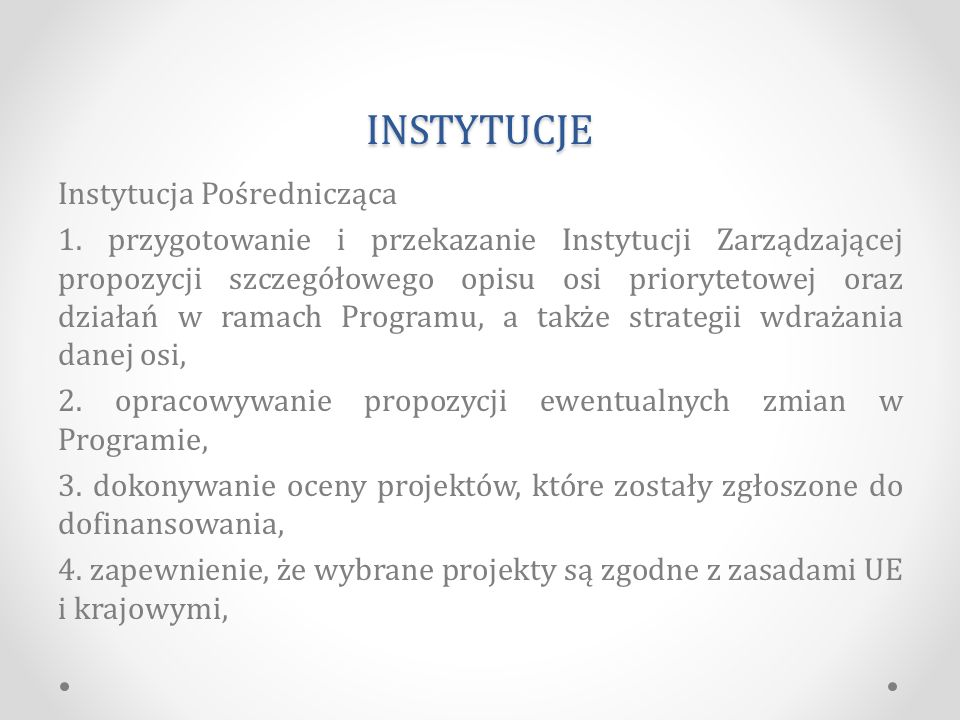 INSTYTUCJE