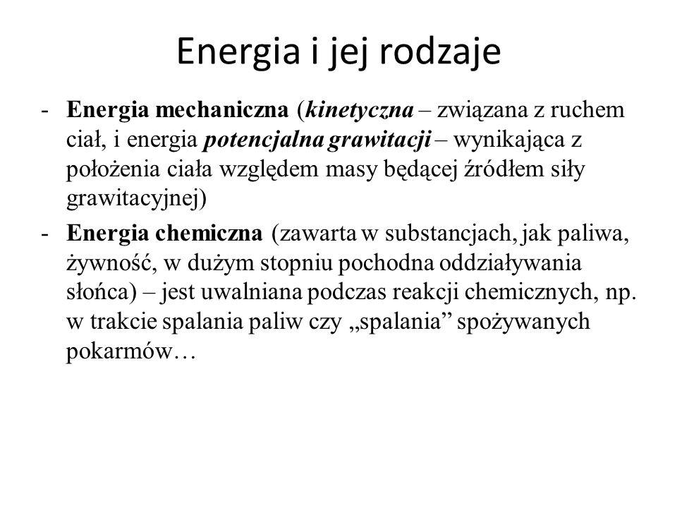 Energia i jej rodzaje
