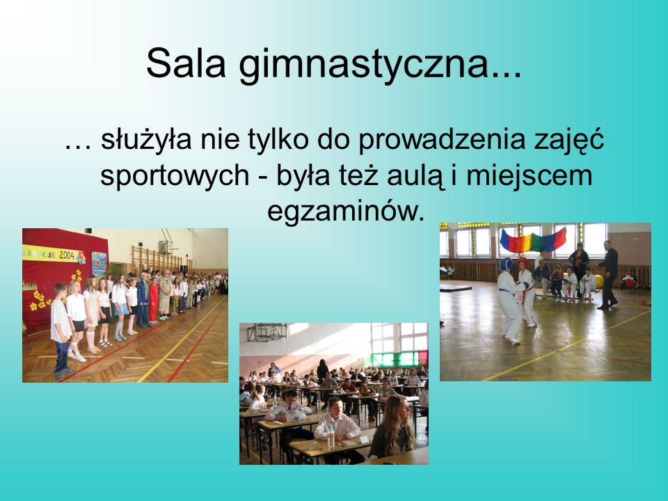 Sala gimnastyczna...