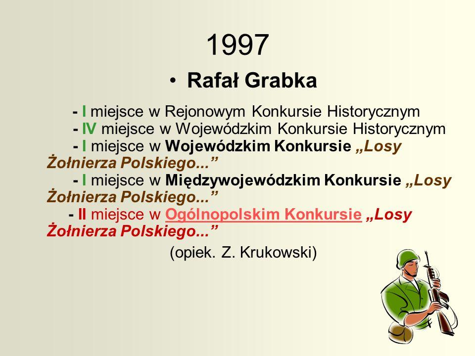 1997 Rafał Grabka.