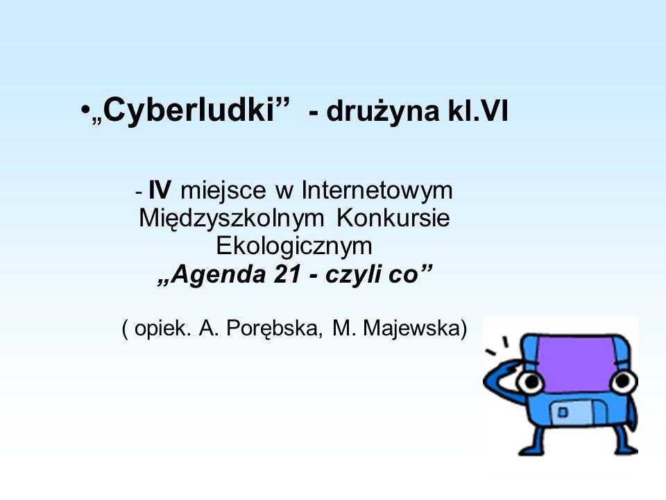 """Cyberludki - drużyna kl.VI"