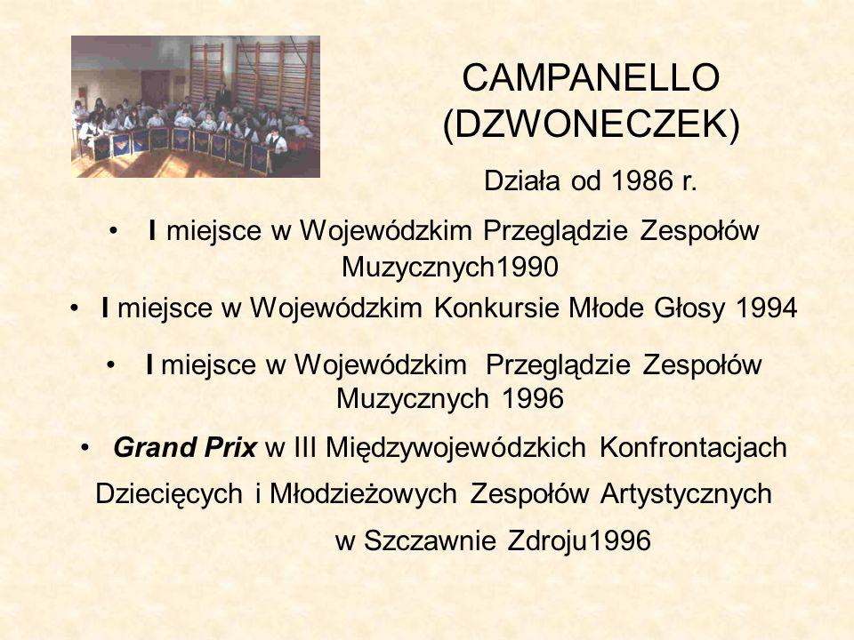 CAMPANELLO (DZWONECZEK)