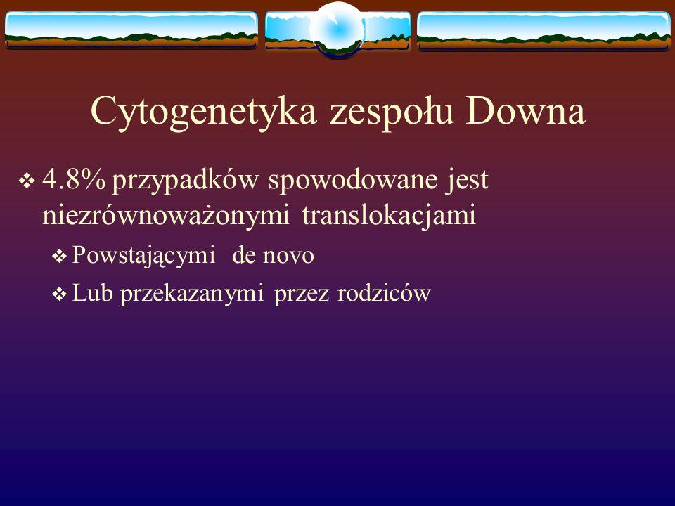 Cytogenetyka zespołu Downa