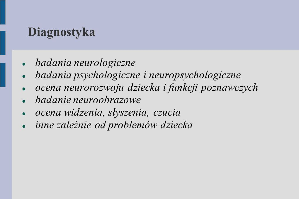 Diagnostyka badania neurologiczne