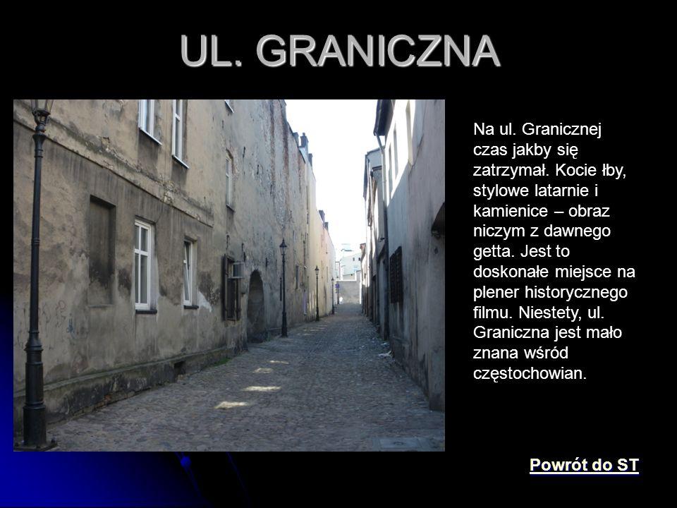 UL. GRANICZNA