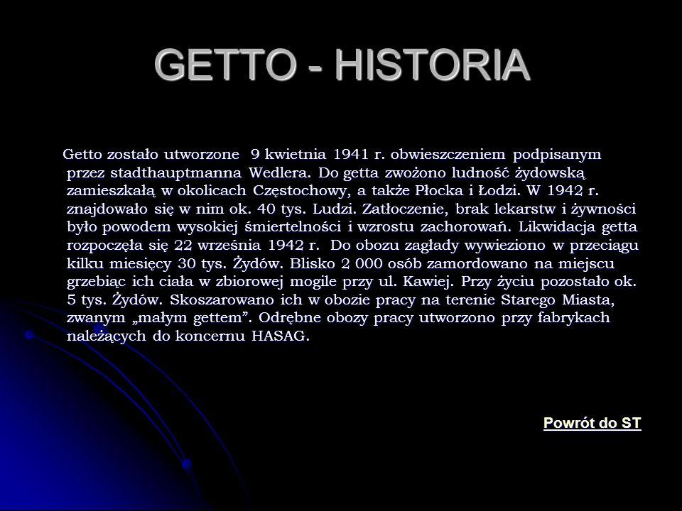 GETTO - HISTORIA