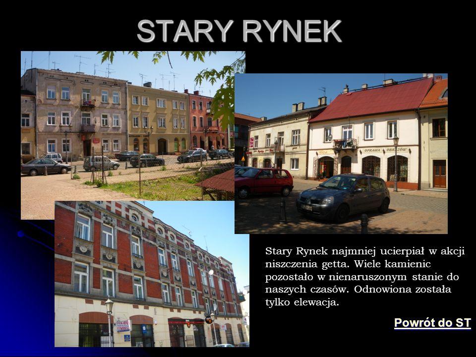 STARY RYNEK Powrót do ST