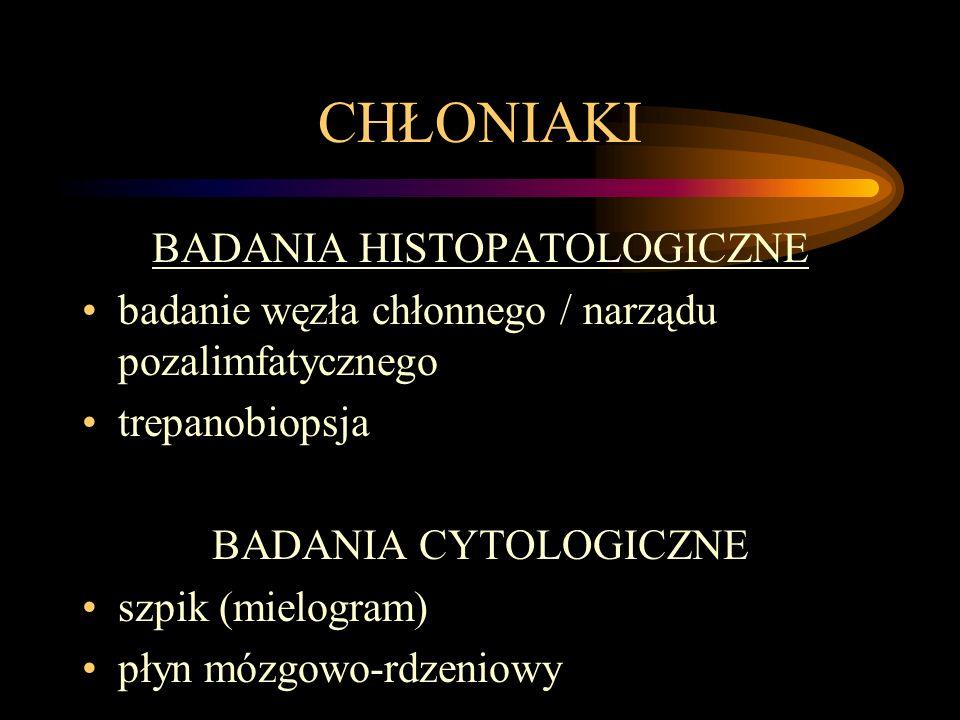 BADANIA HISTOPATOLOGICZNE