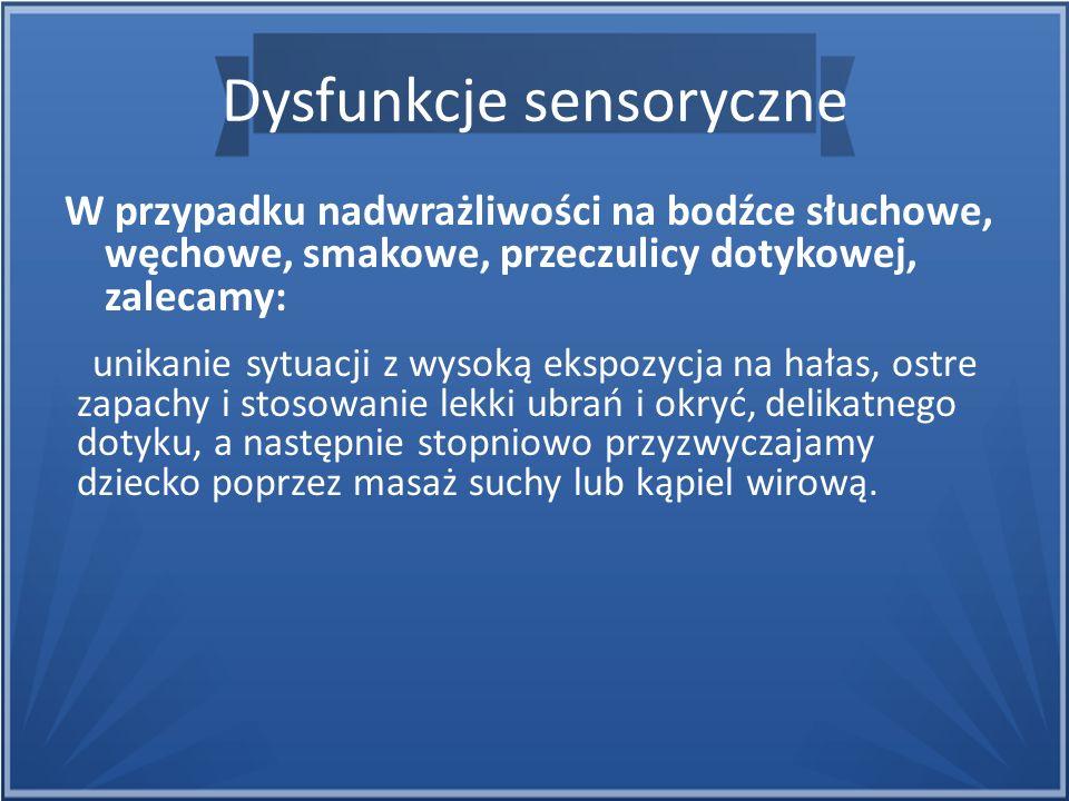 Dysfunkcje sensoryczne