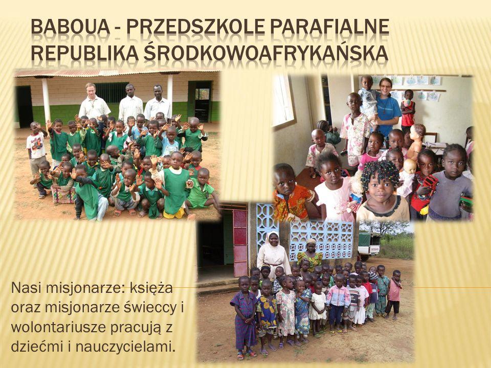 Baboua - Przedszkole Parafialne Republika Środkowoafrykańska