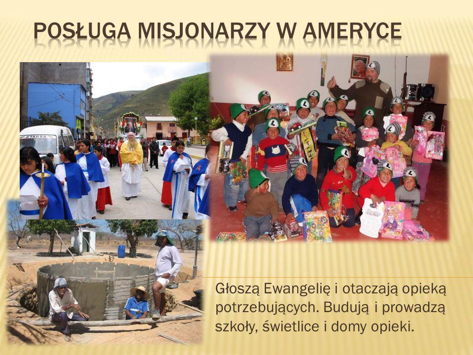 Posługa Misjonarzy w Ameryce