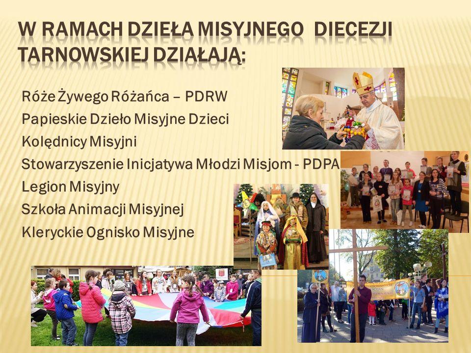 W ramach Dzieła Misyjnego Diecezji tarnowskiej działają: