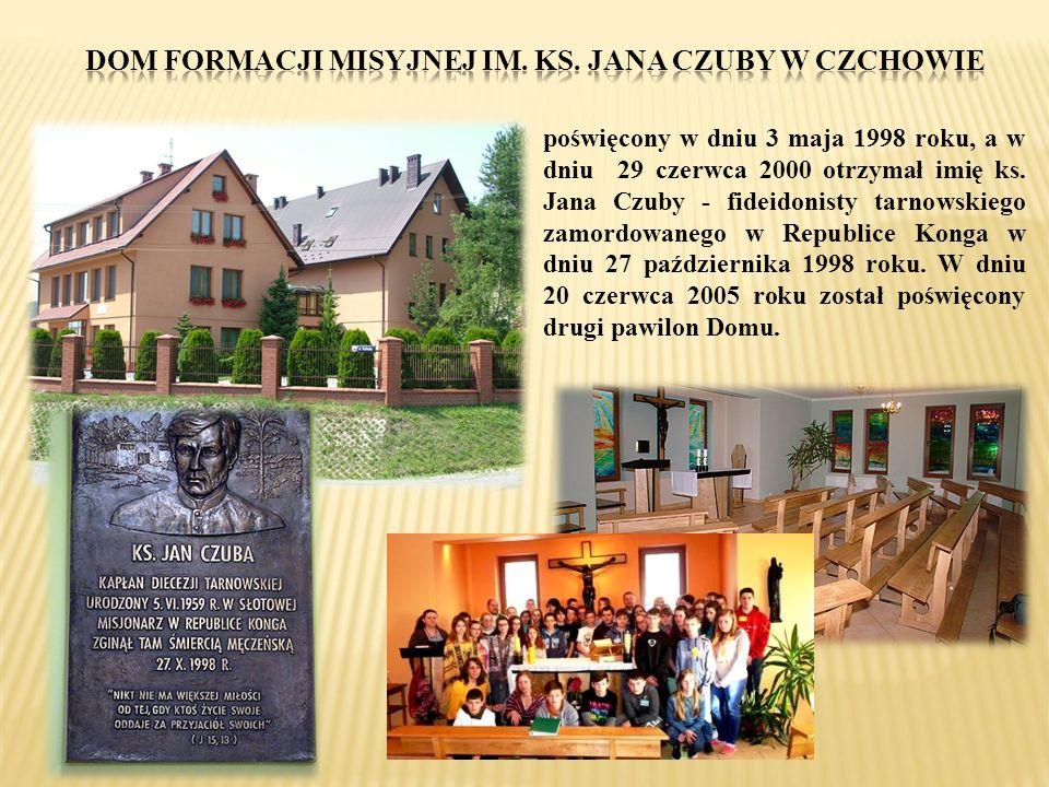 Dom Formacji Misyjnej im. ks. Jana Czuby w Czchowie