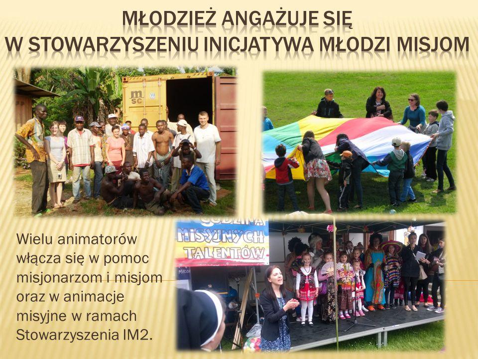 Młodzież angażuje się w stowarzyszeniu inicjatywa młodzi misjom