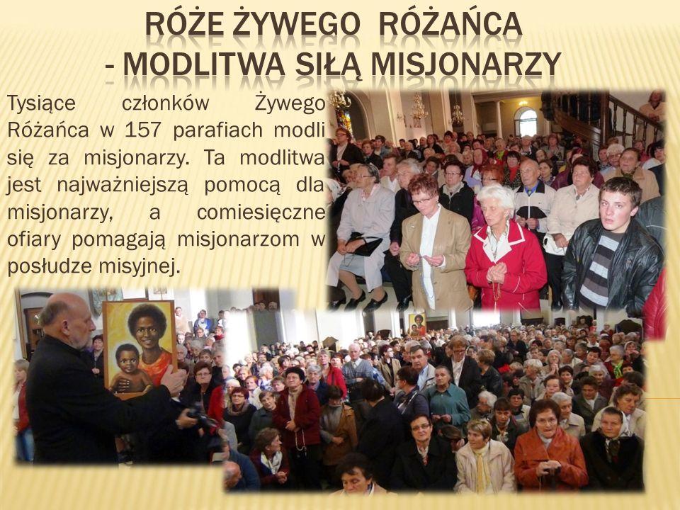 Róże żywego Różańca - modlitwa siłą misjonarzy