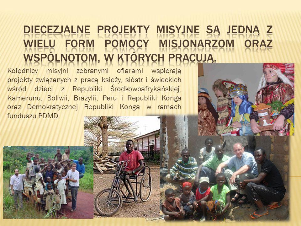 Diecezjalne projekty misyjne są jedną z wielu form pomocy misjonarzom oraz wspólnotom, w których pracują.