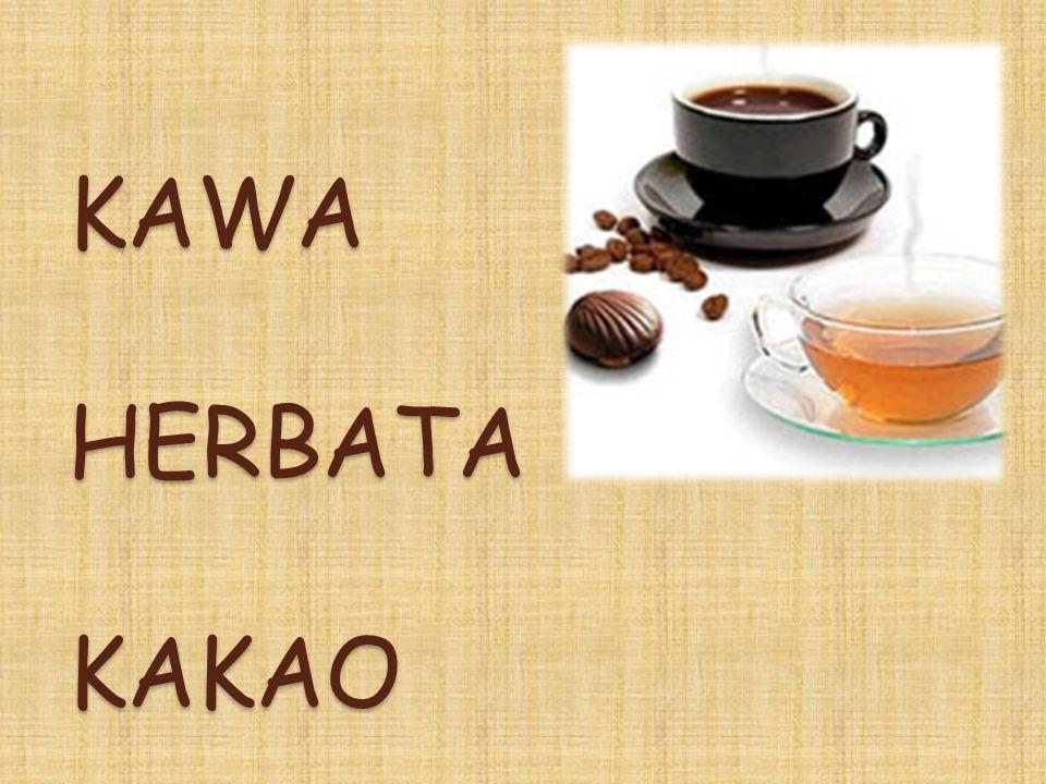 KAWA HERBATA KAKAO