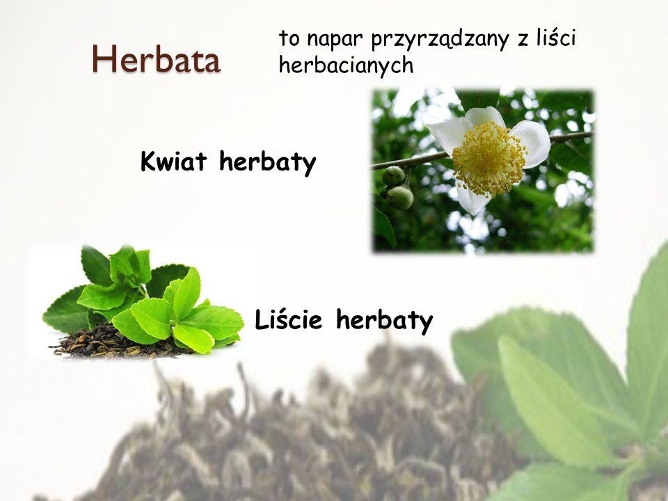 Herbata Kwiat herbaty Liście herbaty