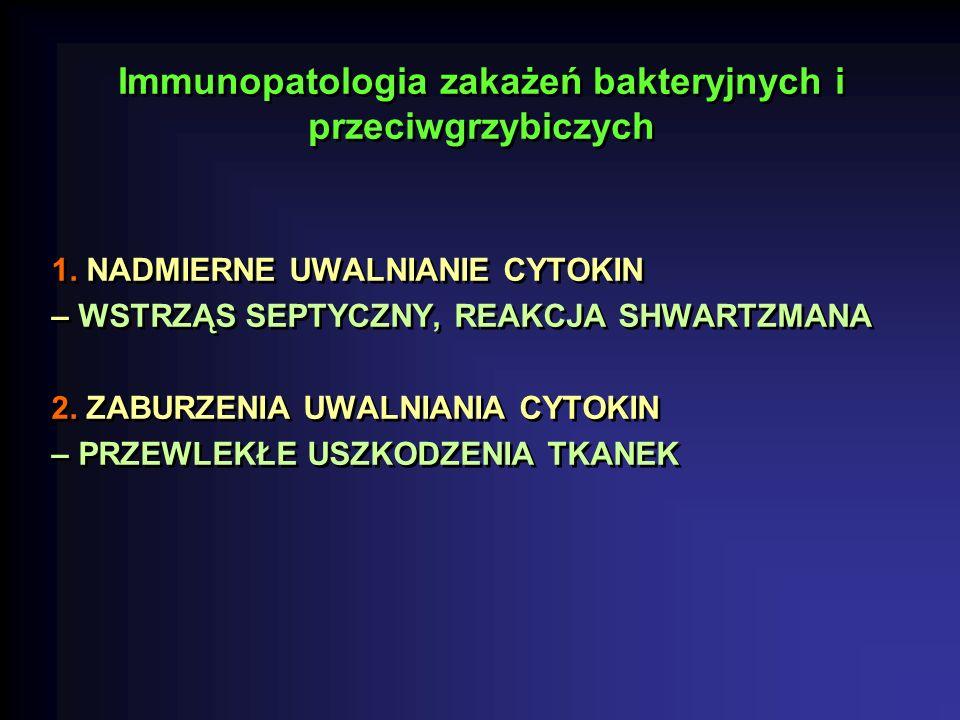 Immunopatologia zakażeń bakteryjnych i przeciwgrzybiczych