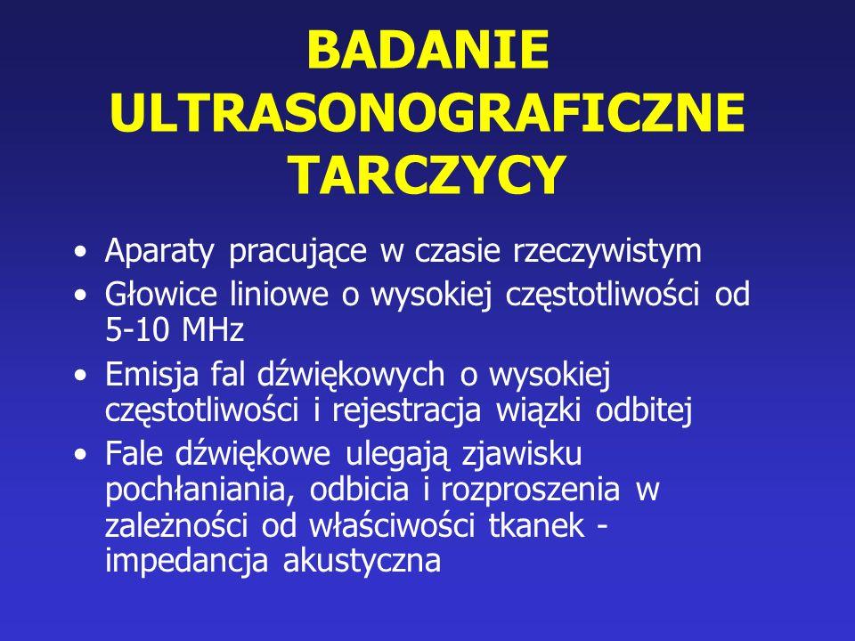 BADANIE ULTRASONOGRAFICZNE TARCZYCY