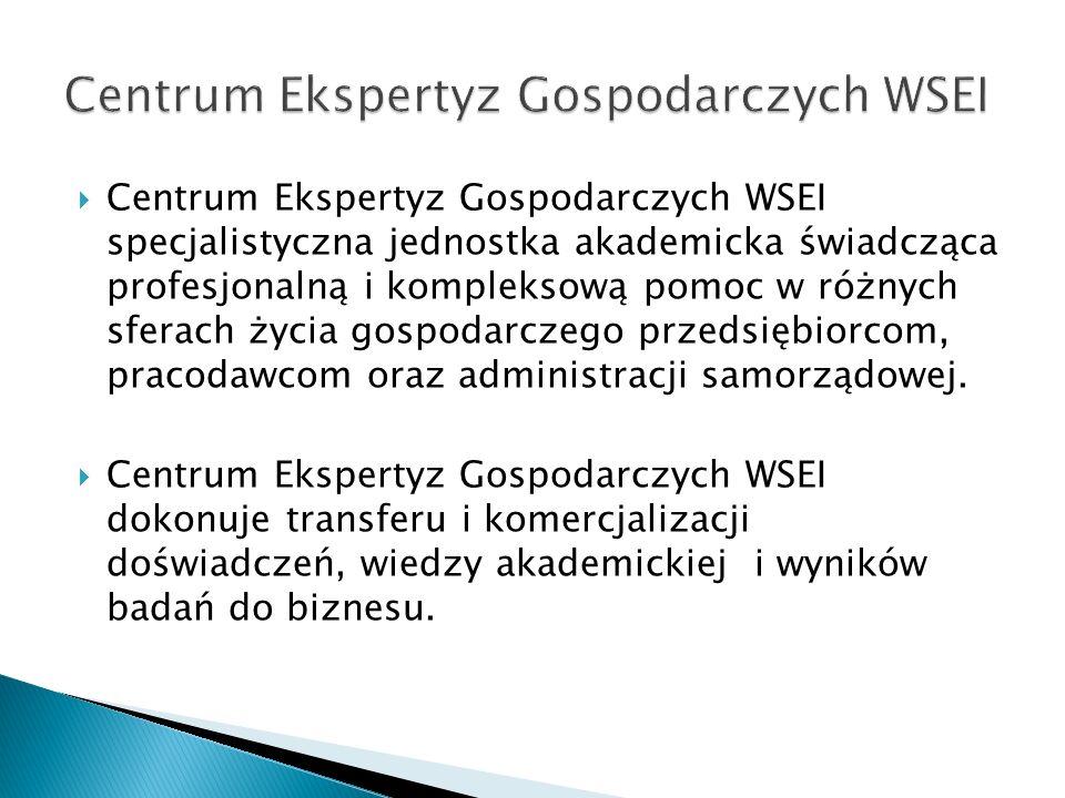 Centrum Ekspertyz Gospodarczych WSEI