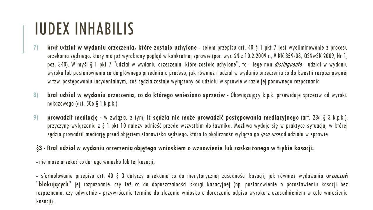 Iudex inhabilis