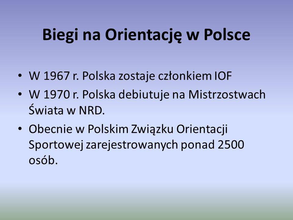 Biegi na Orientację w Polsce