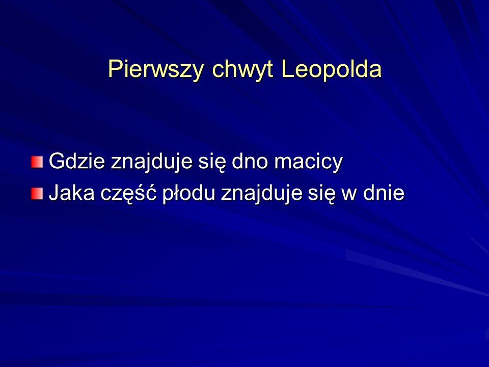 Pierwszy chwyt Leopolda
