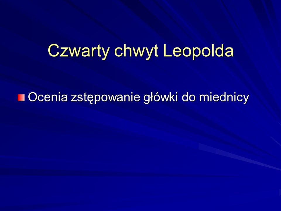 Czwarty chwyt Leopolda