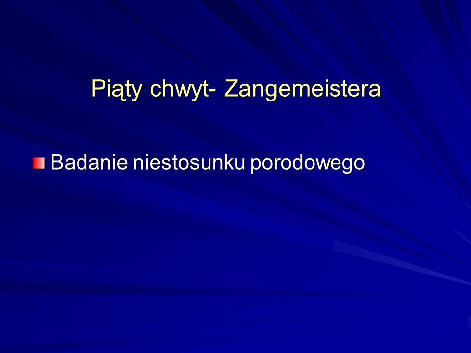 Piąty chwyt- Zangemeistera