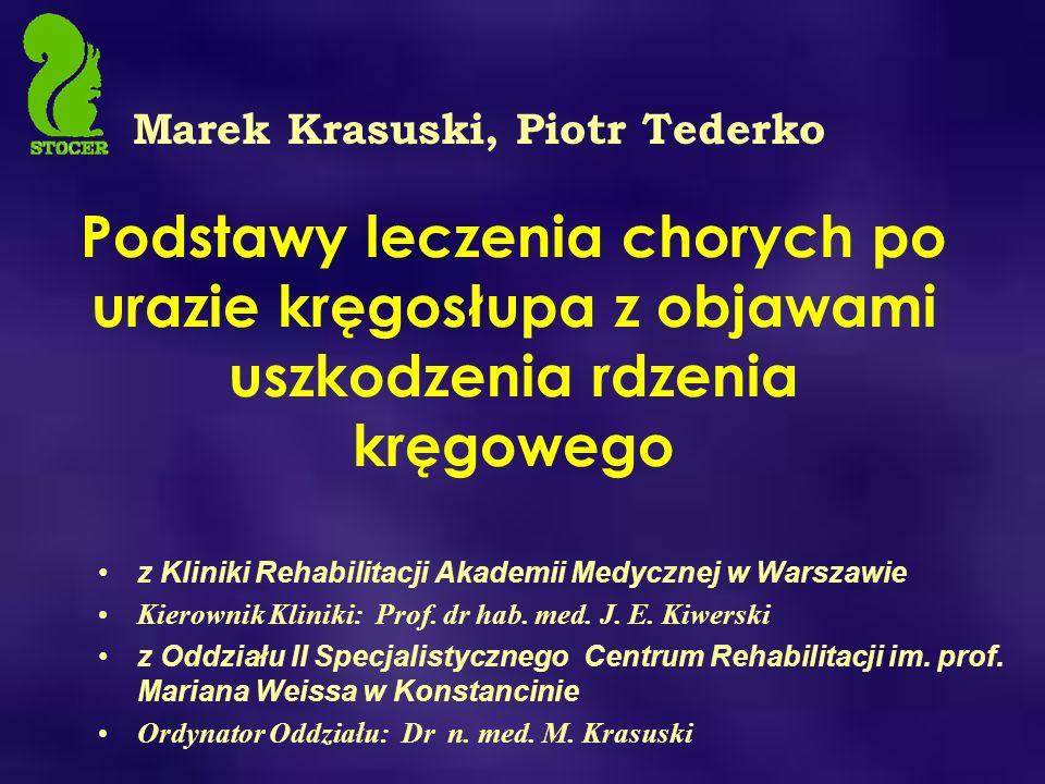 Marek Krasuski, Piotr Tederko